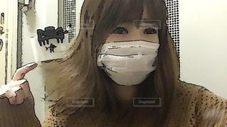 癖毛の写真・画像素材[2660166]