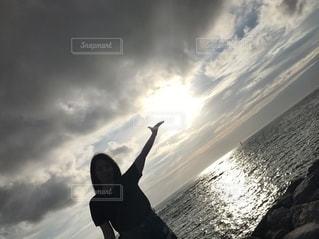沖縄の海の写真・画像素材[2664097]