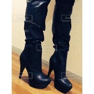 新しいブーツの写真・画像素材[2664419]