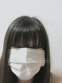 花粉対策バッチリ!?の写真・画像素材[2665026]