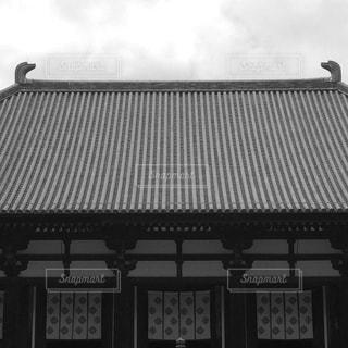 お寺の屋根の写真・画像素材[1264911]