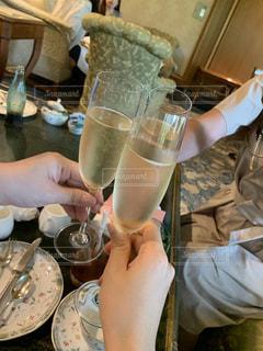 食べ物,グラス,乾杯,ドリンク,女子会,シャンパン,アフターヌーンティー