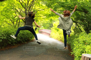 ジャンプ!!の写真・画像素材[2554721]