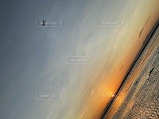 夕陽1日の終わりの写真・画像素材[2858053]