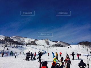 風景,アウトドア,空,スポーツ,雪,山,人物,スキー,ゲレンデ,レジャー,スキー場,スノーボード