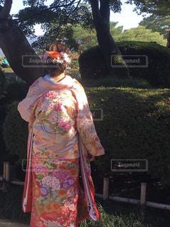 結婚式の前撮りの写真・画像素材[2528409]