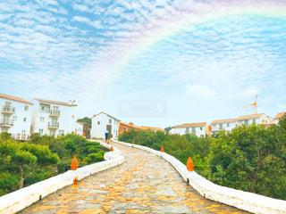 虹空の写真・画像素材[2541844]
