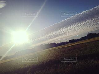 秋の空の写真・画像素材[2653494]