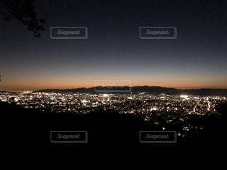 京都の夜を一望の写真・画像素材[2724764]