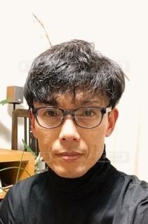 眼鏡男子の写真・画像素材[2755925]