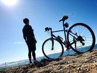 相棒は自転車の写真・画像素材[2794318]