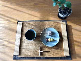 お茶と団子と饅頭の写真・画像素材[2967795]