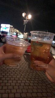 風景,屋外,ビーチ,グラス,ビール,ラグビー,乾杯,神戸,ドリンク,ワールドカップ,パブリックビューイング