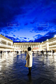 ベネツィアの夜景の写真・画像素材[2793279]