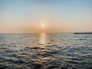 江の島サンセットの写真・画像素材[2668353]