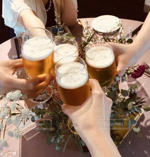 パーティ,結婚式,テーブル,イベント,グラス,ビール,乾杯,ドリンク,女子会,行事