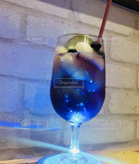 グラス,ブルー,カクテル,乾杯,ドリンク,青いドリンク