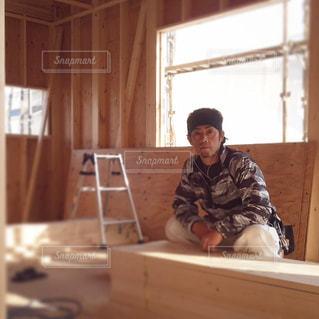 ビジネス,建築,木造,大工,木組み,リモートワーク,ビジネスシーン,棟梁,新築工事