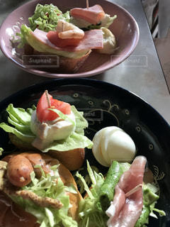 お弁当,オープンサンド,食