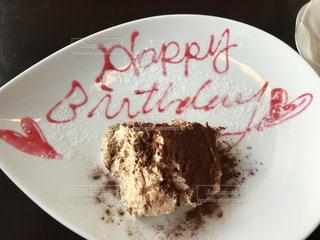 ティラミス,バースデーケーキ,お店からのプレゼント