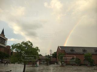 2本の虹✨の写真・画像素材[2580177]
