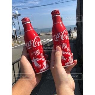 赤,グラス,コーラ,乾杯,ドリンク,湘南,鎌倉