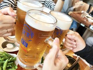 グラス,ビール,乾杯,ドリンク,呑み会