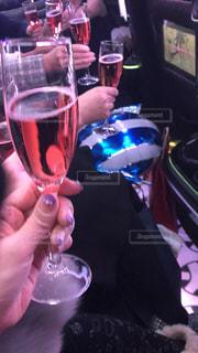 グラス,乾杯,ドリンク,女子会,シャンパン,リムジン