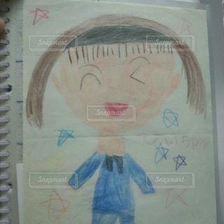 アート,古い,ペン,絵画,色鉛筆,思い出,手書き,紙,似顔絵,おえかき,スケッチ,おうち時間,ステイホーム