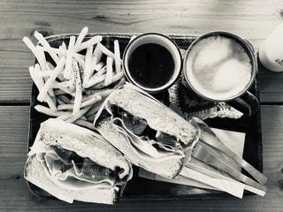 木製の食べ物の写真・画像素材[3351506]