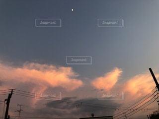 空の雲の写真・画像素材[3398272]