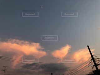 空の雲の群の写真・画像素材[3398273]
