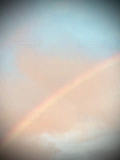 空の虹の写真・画像素材[2557099]