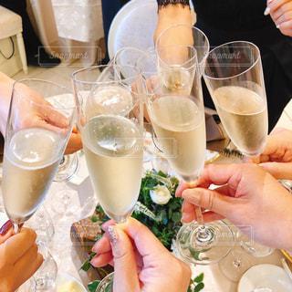 結婚式,グラス,乾杯,ドリンク,女子会,シャンパン