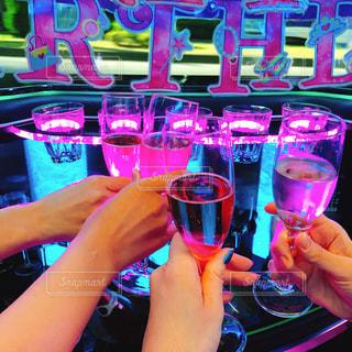 ガラス,楽しい,グラス,乾杯,ドリンク,女子会,シャンパン,パリピ