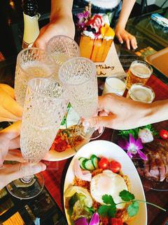 楽しい,トースト,グラス,可愛い,乾杯,ドリンク,女子会,シャンパン