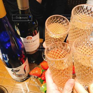 ワイン,グラス,可愛い,誕生日,乾杯,ドリンク,女子会,シャンパン,BAR