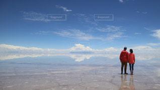 ウユニ塩湖の写真・画像素材[2547666]