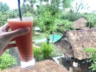 海外,アジア,旅行,グラス,ホテル,乾杯,ドリンク,Bali,バリ島,インドネシア,五つ星,サヌール