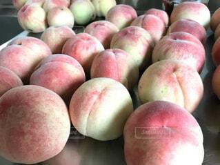 桃が豊作でしたの写真・画像素材[4534661]