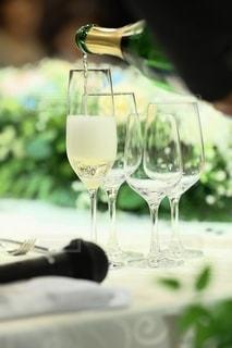 結婚式,ワイン,ボトル,グラス,乾杯,ドリンク,シャンパン,アルコール,ウェディング,良き日