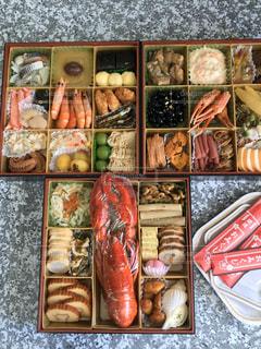いろいろな種類の食べ物の束の写真・画像素材[2891130]