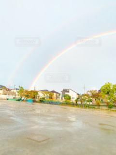 綺麗な虹🌈♡の写真・画像素材[2660635]