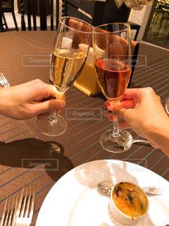 ワイン,グラス,レストラン,記念日,乾杯,ドリンク