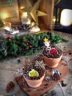 クリスマスティラミスの写真・画像素材[3996947]