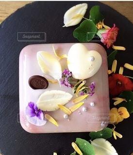 バレンタインケーキの写真・画像素材[4174940]