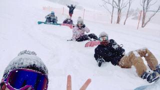 アウトドア,冬,スポーツ,雪,屋外,人物,スノボ,ゲレンデ,グループ,レジャー,スノーボード