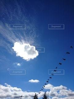 運動会の空の写真・画像素材[2584105]