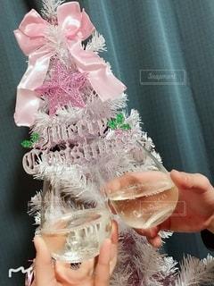 クリスマス,グラス,乾杯,ドリンク,クリスマスツリー,ティファニー