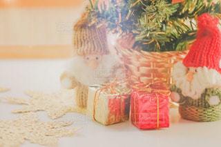 クリスマスのインテリアの写真・画像素材[2822565]